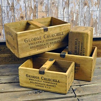 Wooden crates recycled food serving crates wine crates for for Where to buy used wine crates