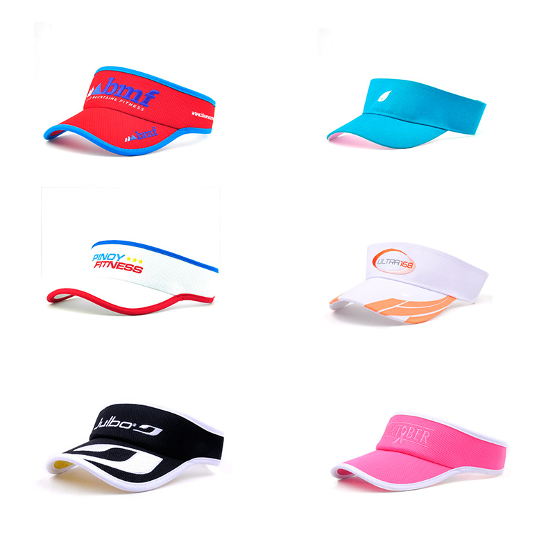 Custom sun visor, Cotton sun visor cap hat