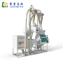 maize automatic wheat sorghum small scale flour mill machinery