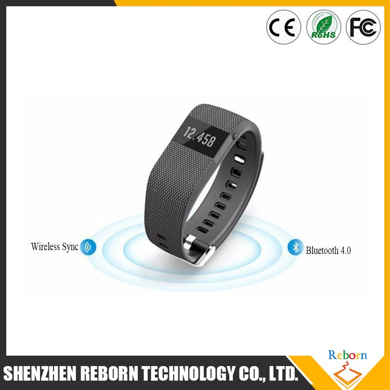 2015 High quality health sleep monitoring smart band / Heart Rate Smart Bracelet / waterproof smart wacth with bluetooth