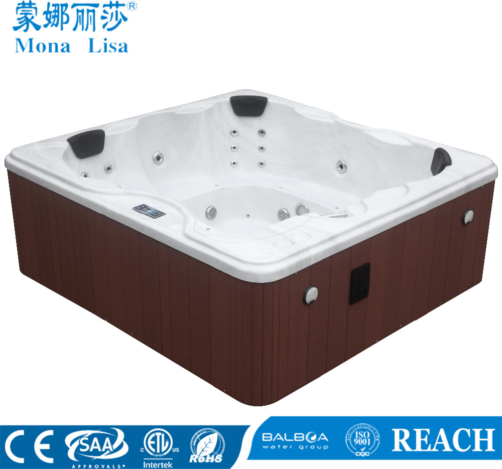Monalisa classic competitive price Simple and Elegant Outdoor Use Hot Tub SPA M-3301