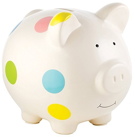 The Perfect Unique Keepsake Gift Pink Color Kids Savings ATM Piggy Bank