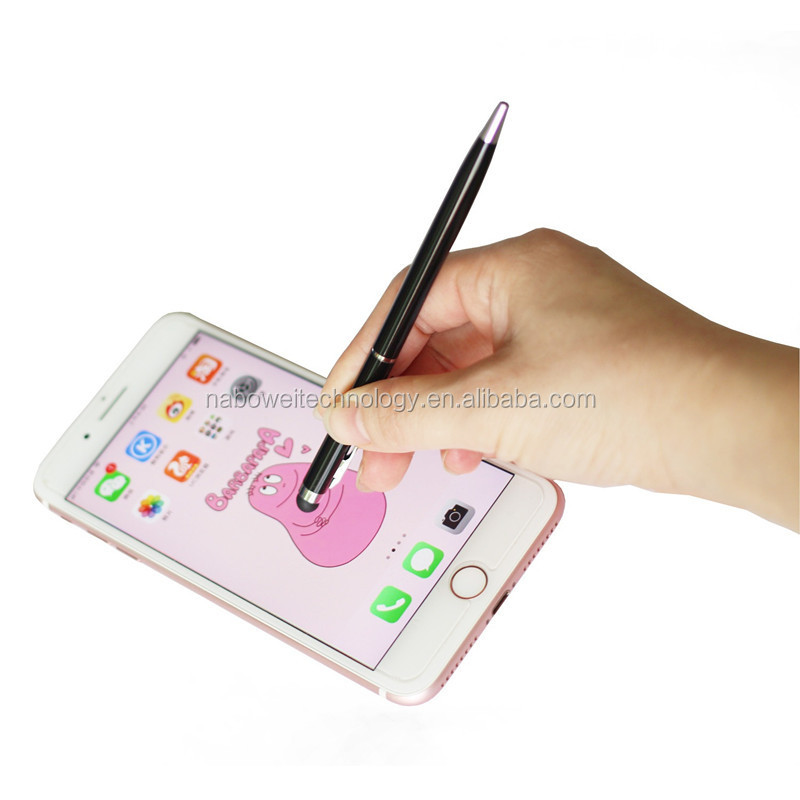 2018 Hot Sale Metal touch screen Ball Pen 2in1 stylus touch pen Capacitive Stylus Pen For ipad Phone/ iPhone Samsung/ Tablet