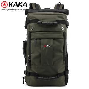 outdoor hiking big capacity men's bag army camping 3-ways single strap camel mountain military tactical molle backpack