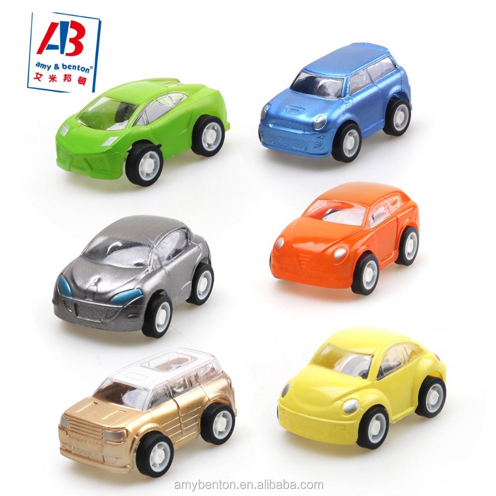 High Quality Plastic Cheap Mini Car Toys For Boys Pull Back Cars
