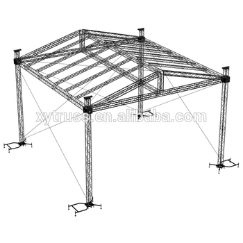 Professional Ground Support Truss System With Ce Certificate - Buy Ground  Support Truss System,Pyramid Roof Truss System,Round Roof Truss Product on