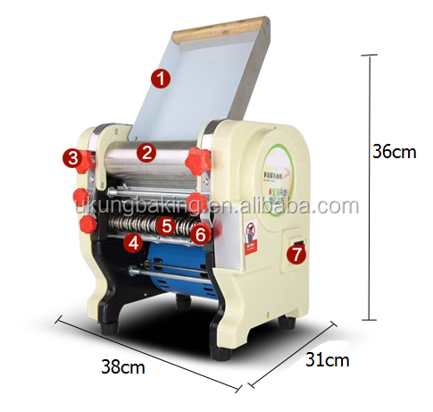 Top Quality Hot Sale Croissant Machine Dough Sheeter For Home Use /dough Sheeter
