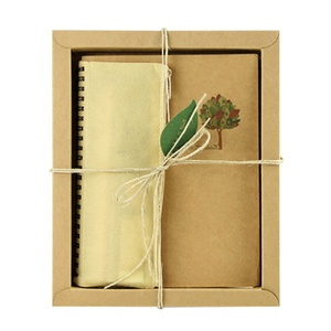 Eco friendly stationery good teacher gifts wholesale packed in craft paper box