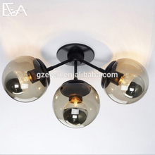 Decorative design modern modo glass wall lamp for corridor