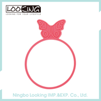 LOOKING 2017 Girls Silicone Rubber Bands
