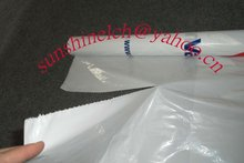 Durable plastic auto seat cover for paint use