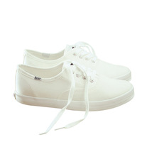 Laceups white men canvas shoes wholesale no brand casual shoes