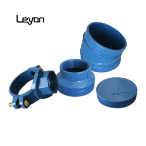 Ductile iron hot dip galvanized ductile iron cap casting pipe fitting