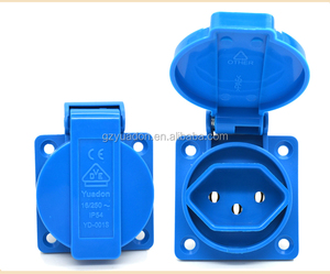 OEM ODM factory China high quality low price waterproof 240v Switzerland sockets ip65 socket waterproof