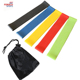 Rainbow Color Latex Resistance Yoga Loop Bands,Superior High Quality Loop yoga Gym Bulk Exercise Latex Resistance Band