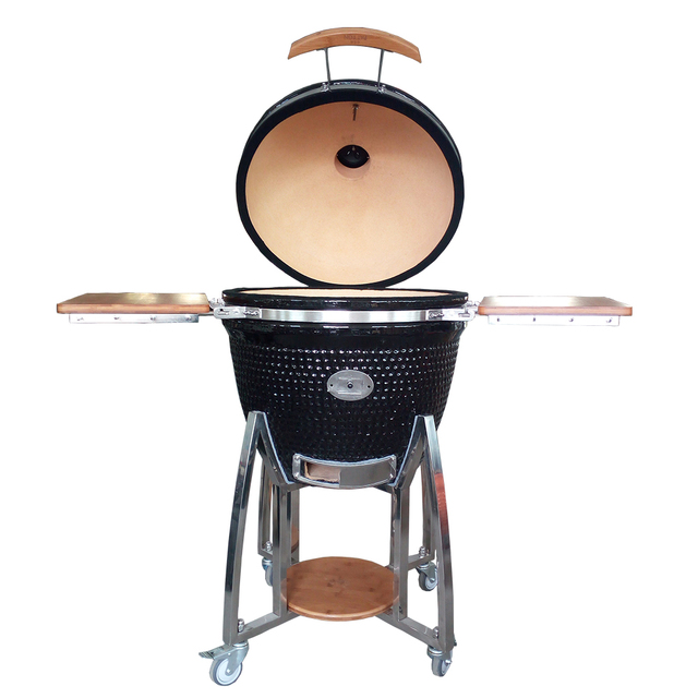 New Design Spices Hole Kamado Joe Mobile Grill Auplex kamado