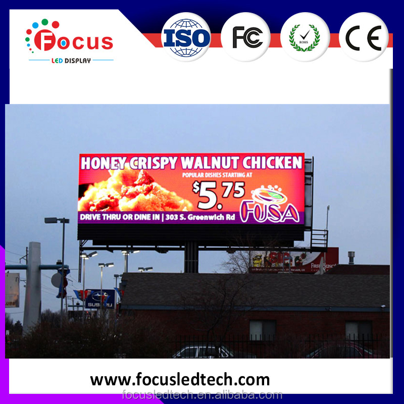 Text, Video, Graphics Display Function and Full Color Tube Chip Color P10 outdoor LED module for LED video wall