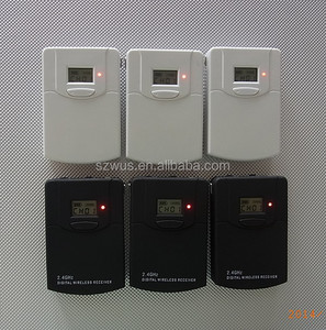 2.4Ghz Wireless Communication System Transmitter and Receivers for Conference and International Travel