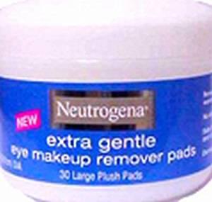 Neutrogena Extra Gentle Eye Makeup Remover Pads -- 1 each.