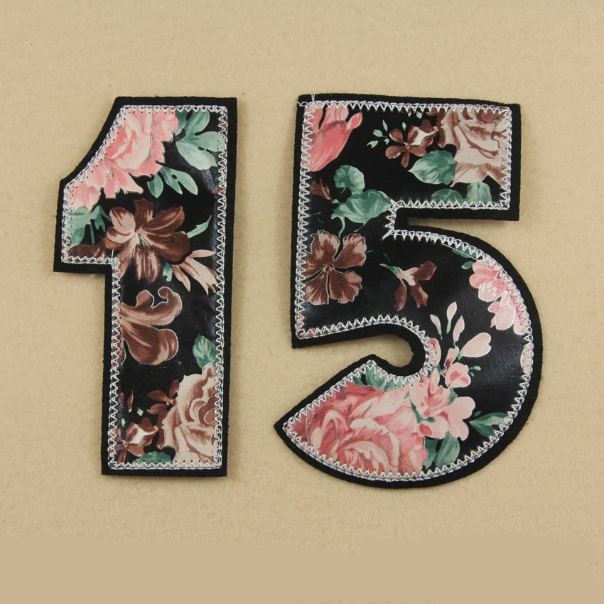 Digital personality British style cloth patch badge cowboy cloth jacket dress accessories auxiliary decorative decals