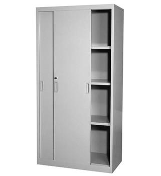 Sliding Door File Cabinet Tambour Cupboard Storage