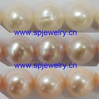 cultured freshwater pearl, similiar round 4-11mm 16-inch per strand