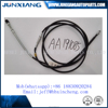 JUNXIANG Bajaj 3 wheelers clutch cable motorcycle control cables india market OEM:AA191085