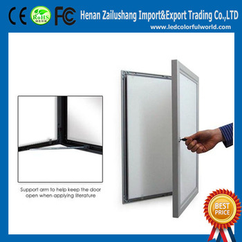 advertising waterproof outdoor frame digital poster frames