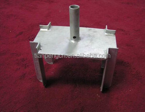 formwork supporting system screw jack head/scaffolding parts