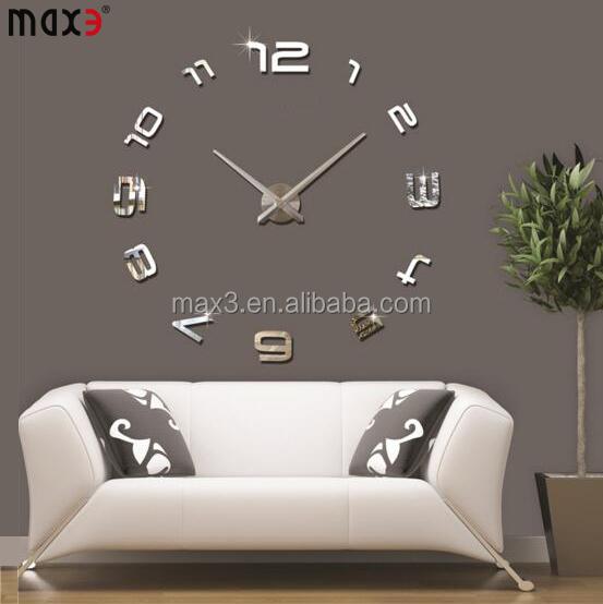 Adhesive Wall Clock, Adhesive Wall Clock Suppliers And Manufacturers At  Alibaba.com