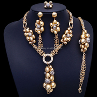 Bridal Jewelry Set Big African Jewelry Sets Costume Jewellery Set
