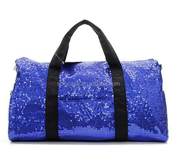 Sequin Duffle Dance Cheer Gym Bag Collection