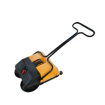 Magic Convenient Cordless Pavement Trash Mechanical Broom Sweeper