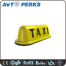 Yellow Taxi Sign Taxi Roof Light