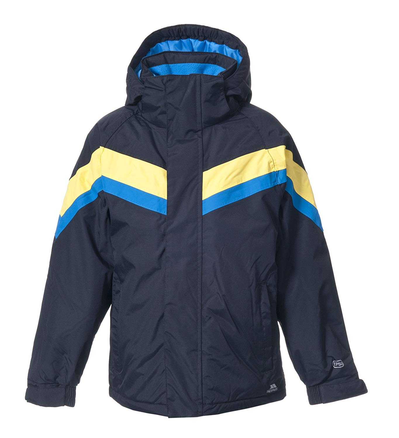 dbed406d42 Get Quotations · Trespass Kennedy Boys Ski Waterproof Hooded Coat Padded Winter  Snow Jacket