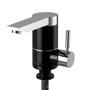 Home use instant water heater tap / Vertical bathroom wash sink faucet