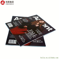 Free Samples Small Run High Quality Customized Magazine Book Printing