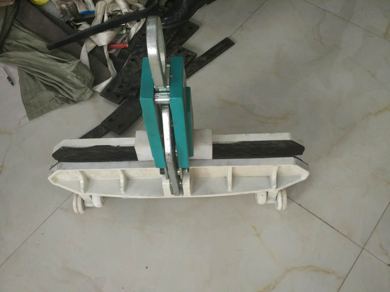 800KG lifting weight LC GLASS Supporting Clamp