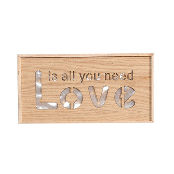 Wooden Modern romantic home interior wall hanging decoration