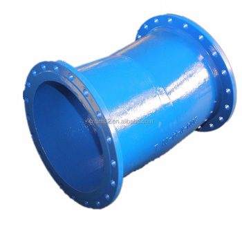 Ductile Iron Pipe Fittings Double Flange Bend 11 25 Degree With Epoxy  Coating - Buy 45 Degree Flange,Di Bend,Ductile Iron Fitting Product on