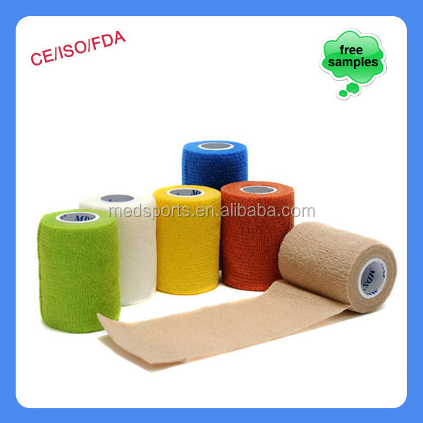 companies want representative veterinary products printed sports tape cohesive bandage