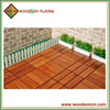 Easy installation and Cheap Price kempas floor decking