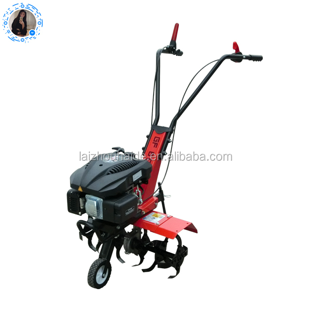 Mini rotary tiller/power tiller/Small agriculture land machine/5 HP farm cultivator
