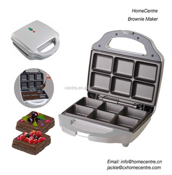 Brownie Maker/700W/6 squares