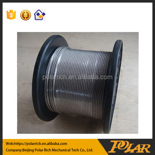 High quality types of stainless steel wire rope for crane China