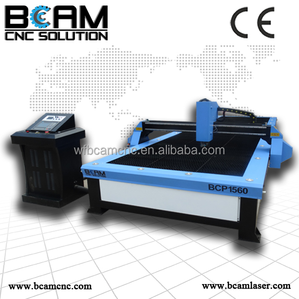 High quality and high precision New Design cnc plasma <strong>cutting</strong> and engraver machine for metal materials BCP1325-100A