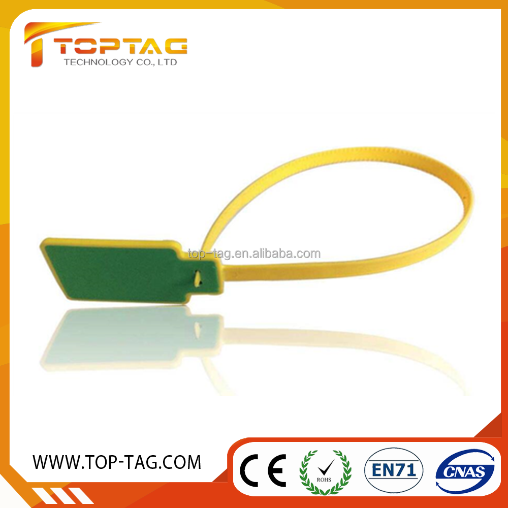 UHF Zip Tie Seal passive cable tie tags for warehouse management