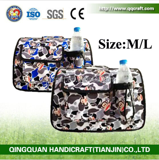 ISO & SGS Pet Factory Direct Sale Portable Durable Pet Bag Carrier For Dog Transport