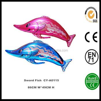 La Migliore Vendita Pesce Spada Palloncino Di Elio Per I Bambini