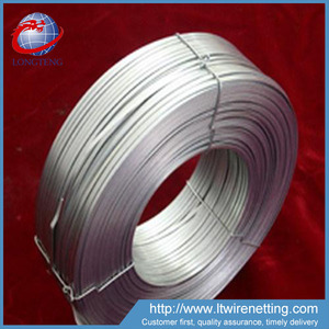 2.5*0.5mm hot dipped galvanized flat iron wire ( china factory and export)